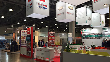 VDL Agrotech booth at the VIV Russia 2015